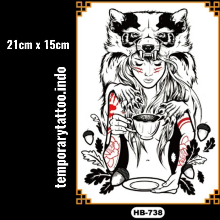 Jual Tato Temporer Lengan Tangan Gaul Keren Temporary Tattoo 21x15 Hb738 Kota Bandung Temporary Tattoo Indo Tokopedia
