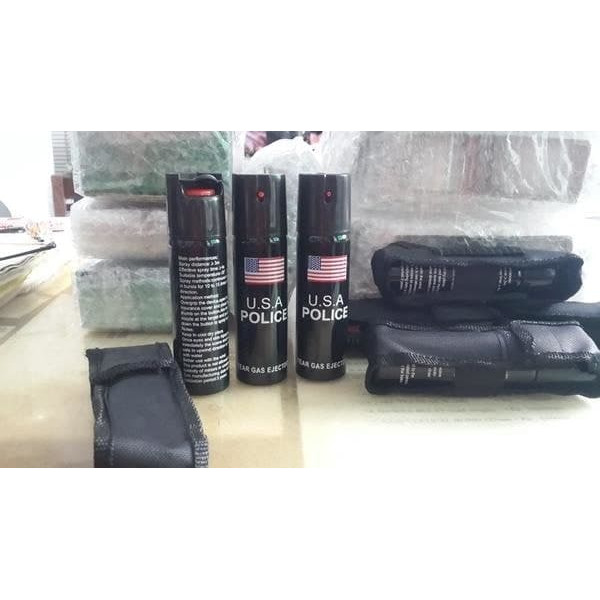 Foto Produk Pepper Spray Police 110ml-Semprotan Merica-Gas Air Mata dari warunglistrik1