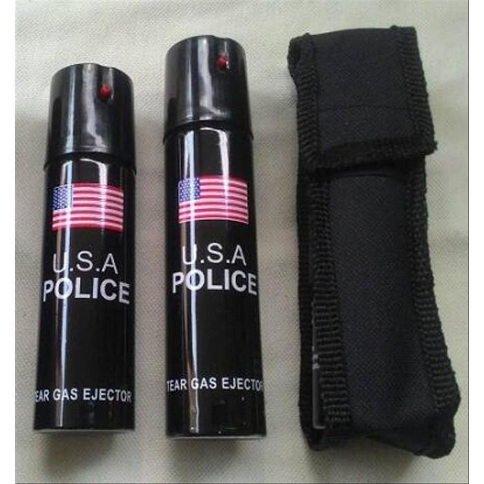 Foto Produk Pepper Spray Police 60ml-Semprotan Merica-Gas Air Mata dari warunglistrik1