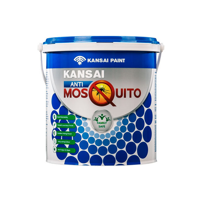 harga Kansai anti mosquito 25l gallon cat tembok anti nyamuk warna putih Tokopedia.com
