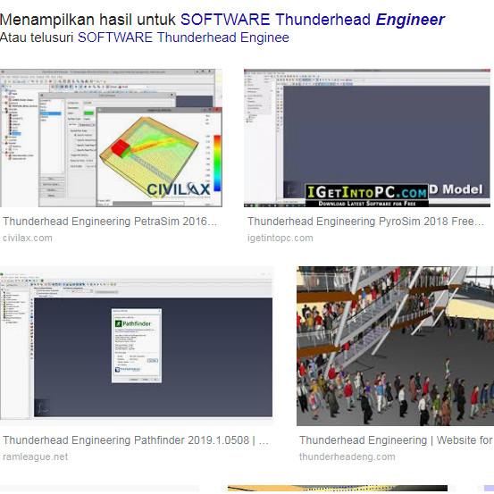 Jual Thunderhead Engineering PyroSim 2019 - Kota Pontianak - Soft Kaki Lima  | Tokopedia