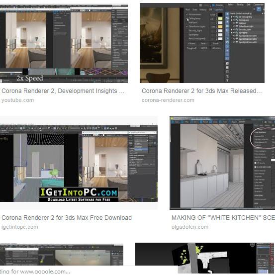 Jual Corona Renderer 2 0 for 3ds Max 2013-2019 + Material Library - Kota  Pontianak - Soft Kaki Lima | Tokopedia