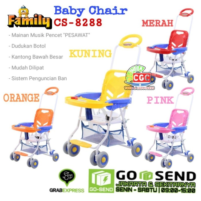 Jual Family Baby Chair Stroller CS 8288 Meja Makan Khusus ...