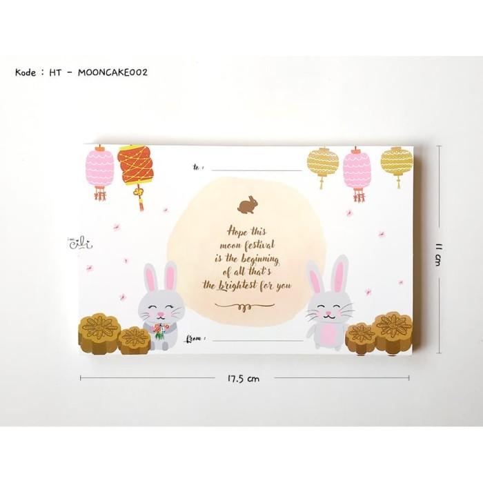 Foto Produk (HT-MOONCAKE02) kartu besar kotak ucapan mooncake kue bulan ko dari i am CiLi
