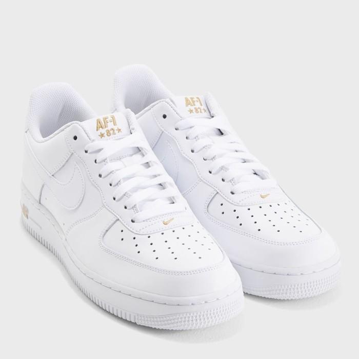 low priced df1a4 81c97 Jual Sepatu Nike Air Force 1 82 Low White Premium Quality - DKI Jakarta -  Adhezta Sport | Tokopedia