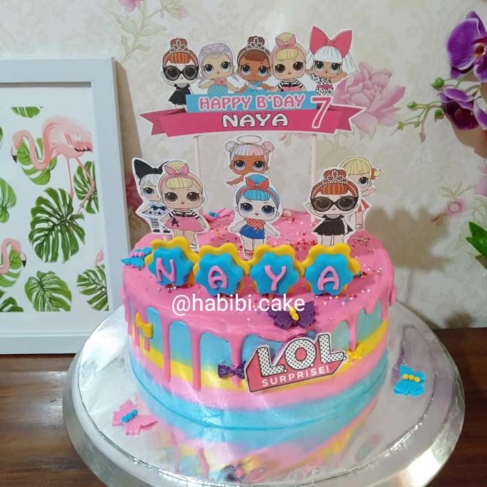 Jual Kue Ultah Lol Surprise Cake Lol Surprise Topper Kue Lol Surprise Kota Tangerang Selatan Baju Alya Shop Tokopedia
