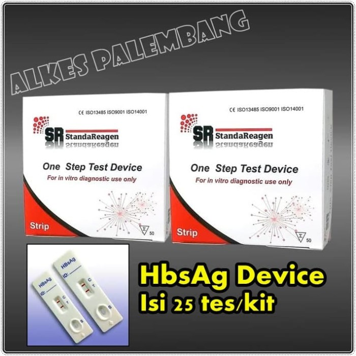 Foto Produk HBSAG Device/Test Hepatitis-B Device/Alat Tes Hepatitis-B Device dari Alkes Palembang