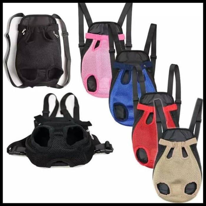 harga Tas gendong depan untuk hewan - merah muda medium Tokopedia.com