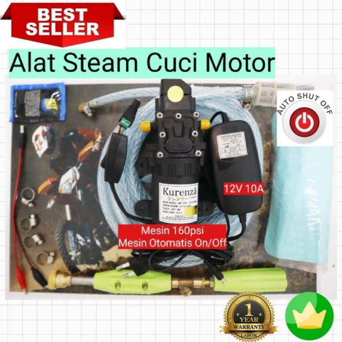 harga Mesin terbaru 120psi 5lpm 8.5bar alat cuci motor ac steam erttrertret Tokopedia.com