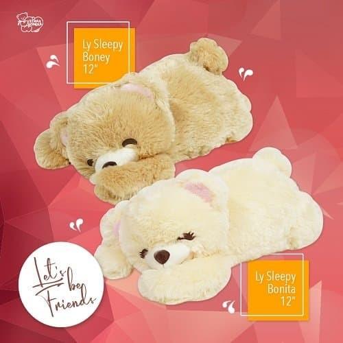 harga Boneka beruang istana boneka ly sleeping boney mungil lucu Tokopedia.com