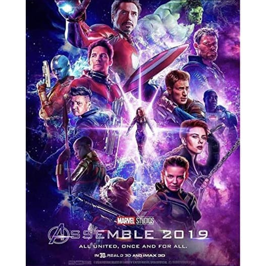 Jual Avengers Endgame 2019 Dvd High Resolution Encoding End Game Kota Bekasi A Breeder Tokopedia