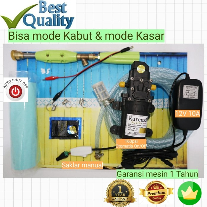harga 120psi 5lpm mode kasar & kabut jet cleaner steam alat cuci motor vvvvv Tokopedia.com