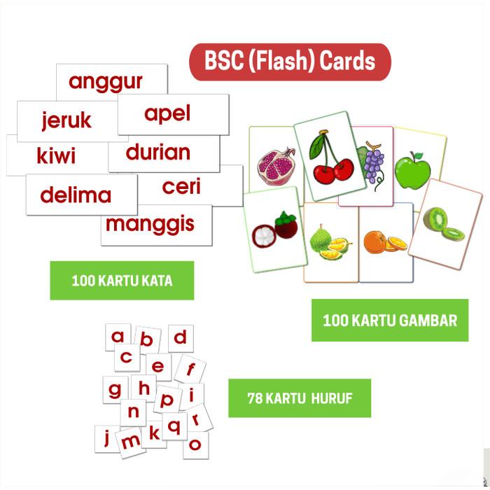 Jual Kartu BCS Flash Card + CD Worksheet Belajar Baca Tulis dan Bahasa -  Kab  Sumedang - Taman Lestari   Tokopedia