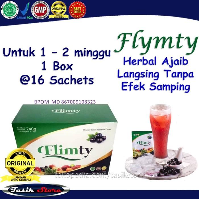 Foto Produk Pelangsing flimty fiber 1 box obat diet penurun berat badan herbal dari Tasik Store