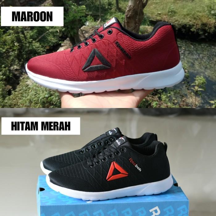 a538a59e9d5 Jual Sepatu Sport Pria Reebok SpeedLux Running Sneakers Hitam Abu Abu -  Kota Surabaya - Lapak Sepatu Sby   Tokopedia
