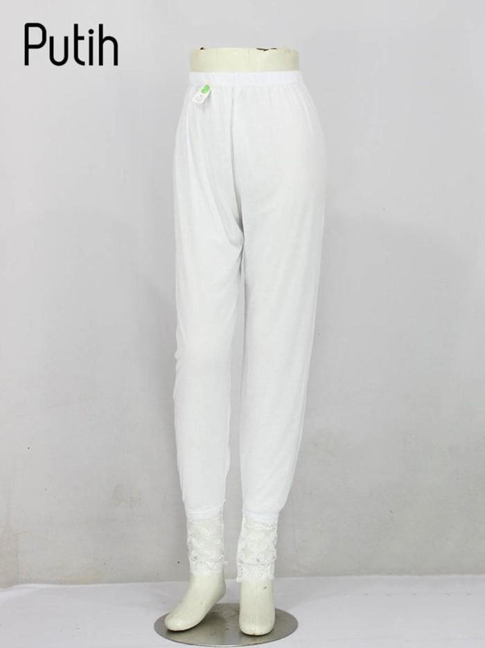 Jual Promo Daleman Gamis Legging Renda Putih Jakarta Pusat Store By Kevin Tokopedia