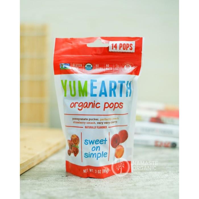 harga Yum earth - organic pops 14 pops Tokopedia.com