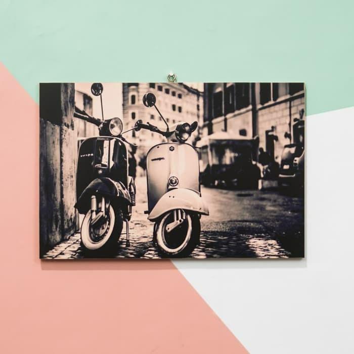 Download 780 Koleksi Wallpaper Dinding Vespa Paling Keren