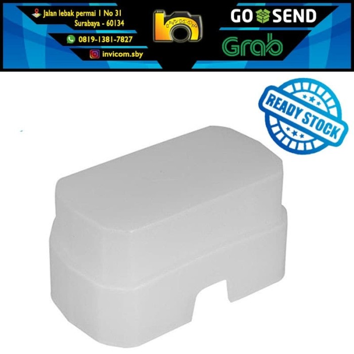 harga Flash diffuser omni bounce for canon speedlite 600ex-rt / yn600ex Tokopedia.com