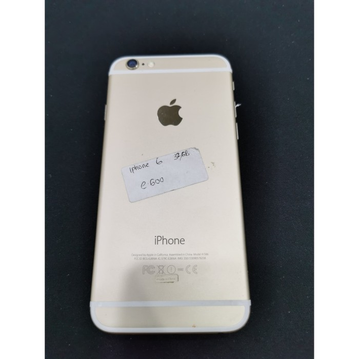 Iphone 6 E >> Jual Iphone 6 32gb Second Iphone 6 Second Iphone 6 32gb Bekas Tam Jakarta Pusat Winnercellular789 Tokopedia