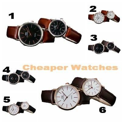 Foto Produk Jam Tangan DW Kulit Couple dari Cheaper Watches