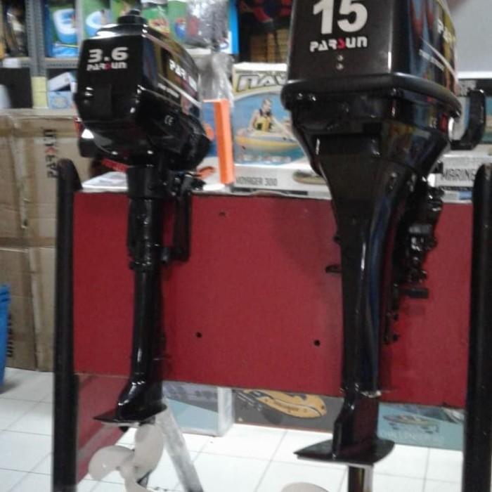 Foto Produk Mesin tempel PARSUN15 pk bensin campur garansi dari dunia selam