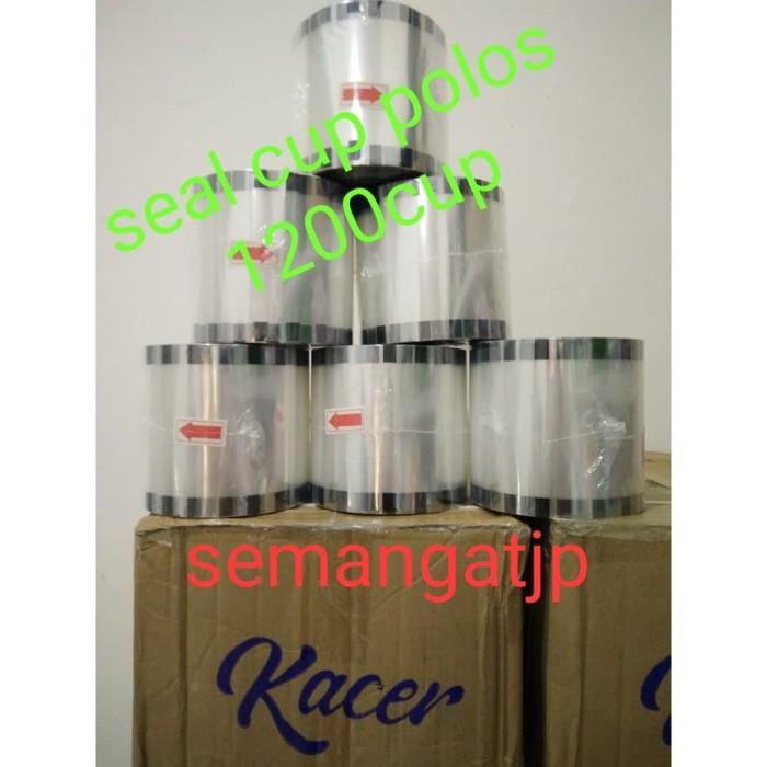 harga Plastik lid seal cup / tutup gelas / seal cup pop ice/seal cup polos Tokopedia.com