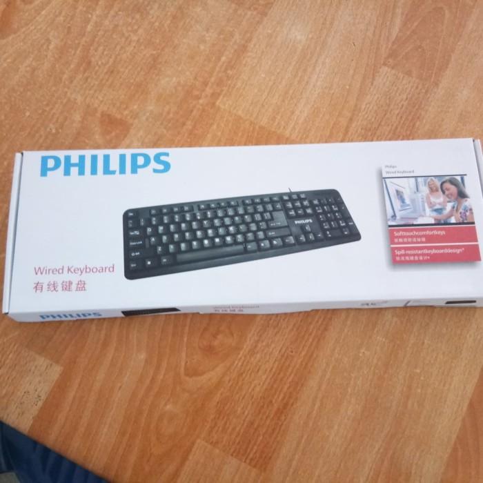 Foto Produk Philips Wired Keyboard - Hitam dari Hendry wang Shop