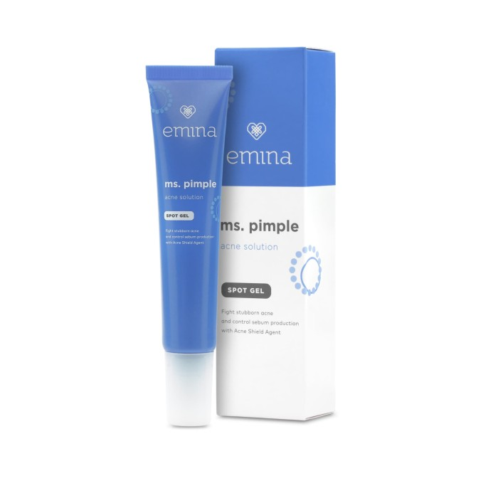 Foto Produk Emina Ms. Pimple Acne Solution Spot Gel 15 ml dari Emina Official Store