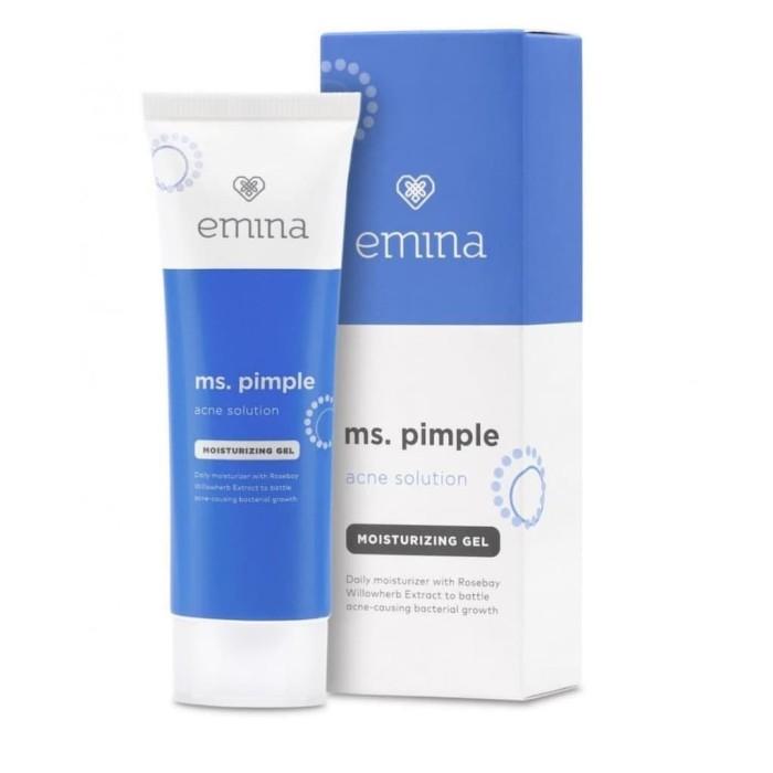 Foto Produk Emina Ms. Pimple Acne Solution Moisturizing Gel 20 ml dari Emina Official Store