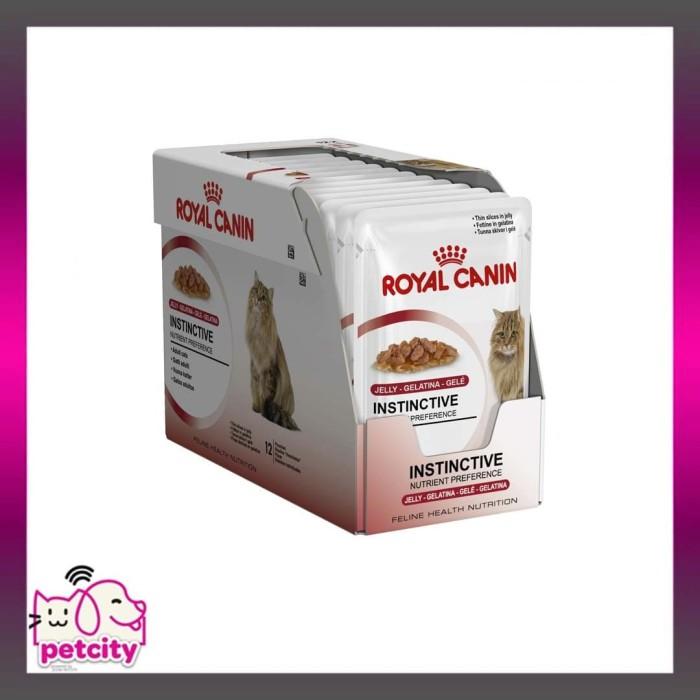 harga Makanan kucing | royal canin adult instinctive 12 pouches | gravy 85gr Tokopedia.com