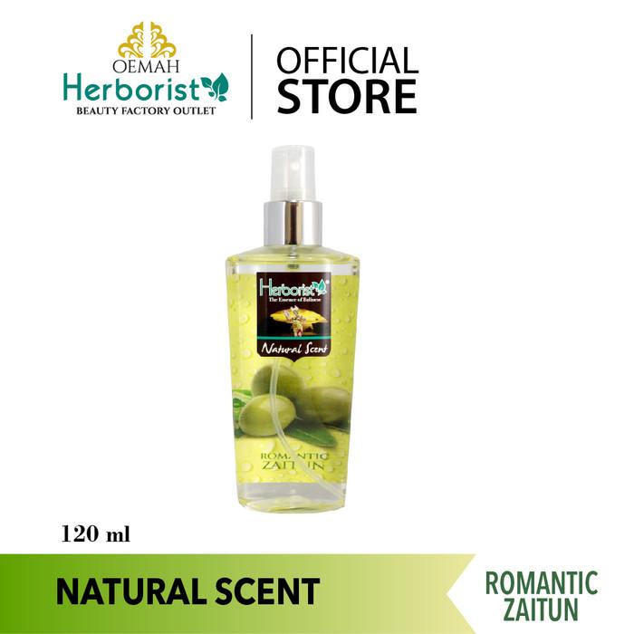 Foto Produk Herborist Natural Body Scent Romantic Zaitun - 120ml dari Oemah Herborist