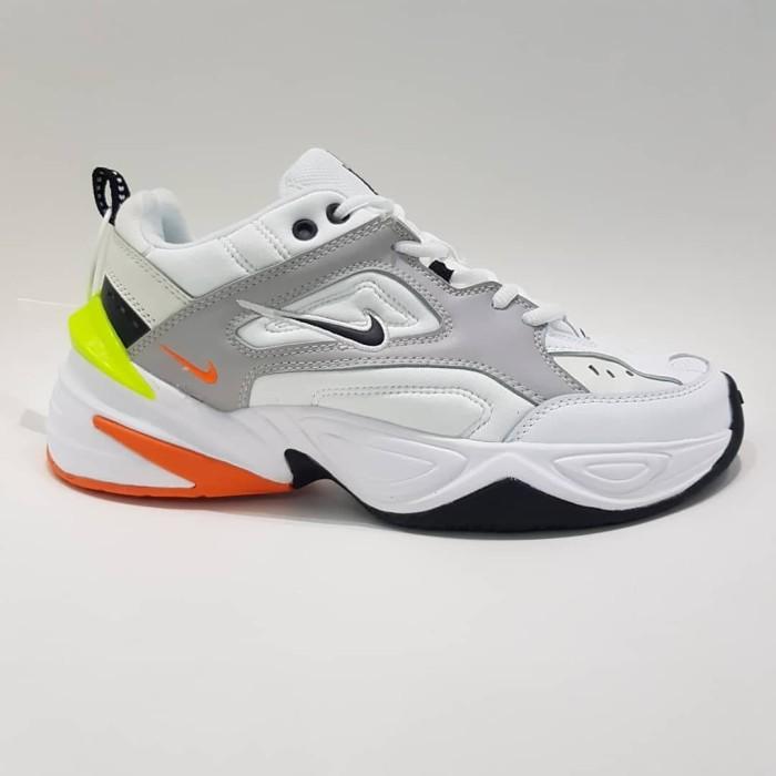 Jual Nike M2K Tekno White Orange - Kota