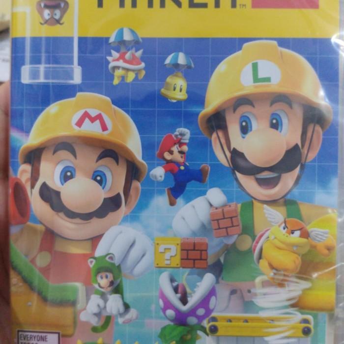 harga Nintendo switch : super mario maker 2 Tokopedia.com