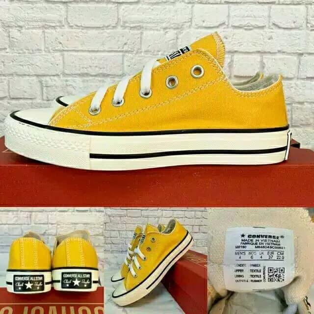 Jual Converse Allstar Kuning Yellow Grade Ori Kuning 36 Kab