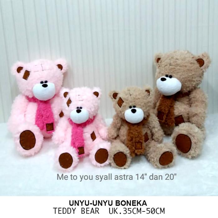Cute Lamb Stuffed Animals, Jual Boneka Teddy Bear Syal Me To You 50cm Bear Beruang Teddy Jakarta Selatan Unyu Unyu Boneka Tokopedia