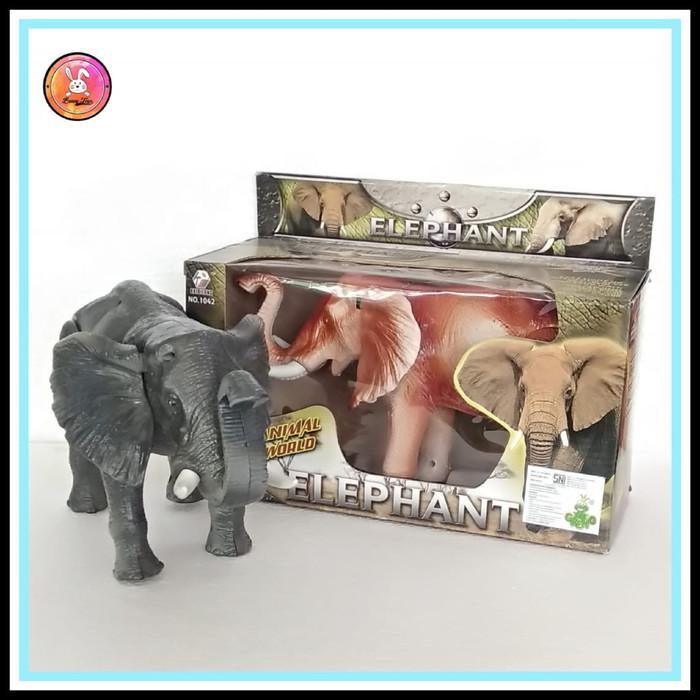 Jual Mainan Anak Gajah 3d Montion Gajah Bergerak Dan Bersuara Kab Cirebon Bunny Toys Tokopedia