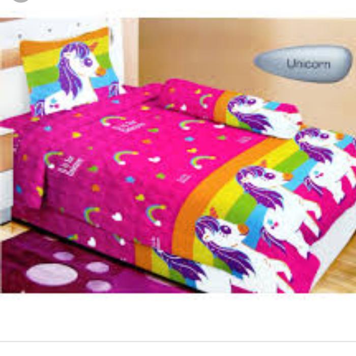 Jual Bed Cover Lady Rose Single Uk 120x200 Unicorn Kab