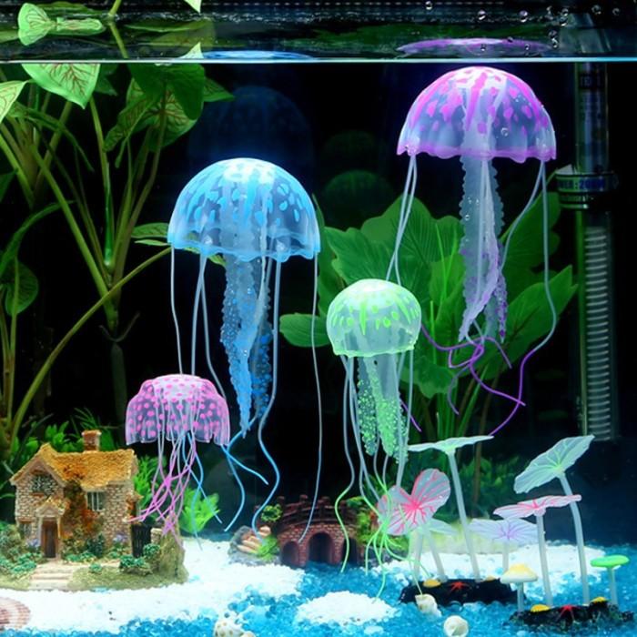 Jual Faye Ornamen Aquarium Jellyfish Ubur Ubur Simulasi Melayang Untuk Deko Jakarta Pusat Random Shop T Tokopedia