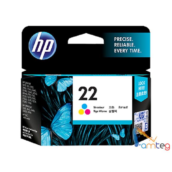 harga Hp 22 tri-color original ink cartridge Tokopedia.com