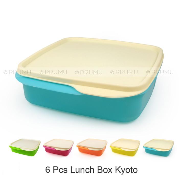 Foto Produk 6 lunch box / tempat makan / kotak makan / Catering box - Cleo Kyoto dari PRUMU dot com