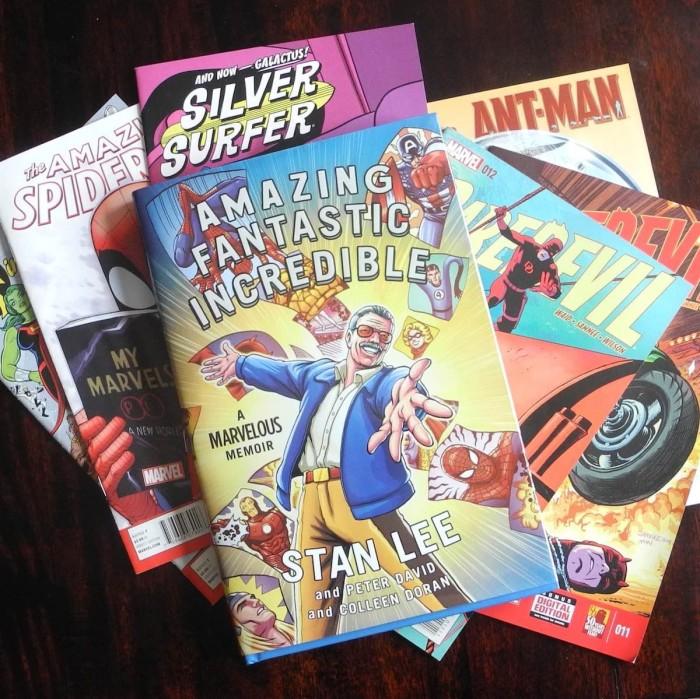 harga Amazing fantastic incredible stan lee marvel comic biography komik bbw Tokopedia.com