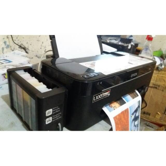 Jual Terlaris Printer Epson L100 Second Normal Murah Meriah Kota Medan Elcos Store Tokopedia