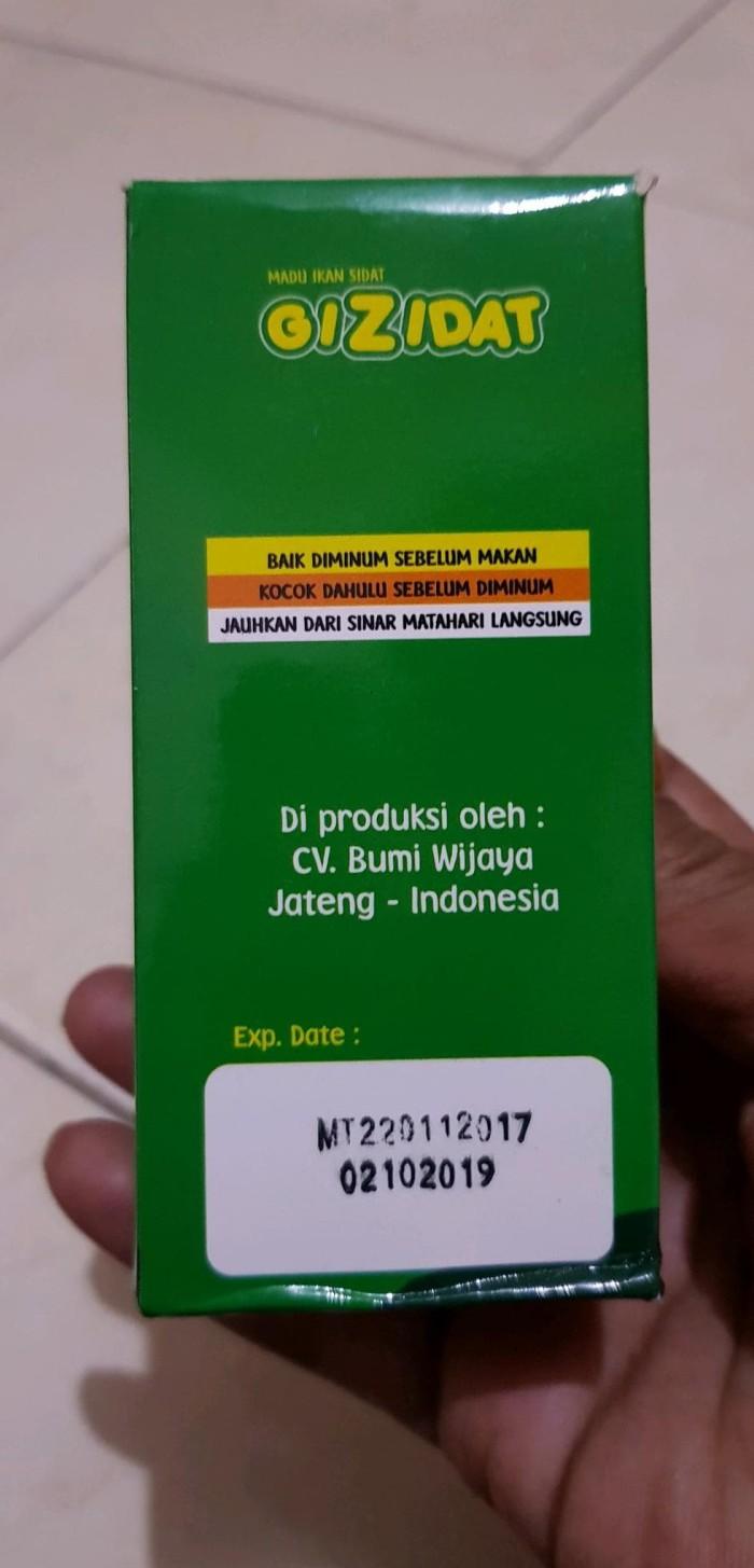 Jual GIZIDAT Madu Anak Sari Ikan Gabus DISKON Jakarta Pusat Afika Baby Shop