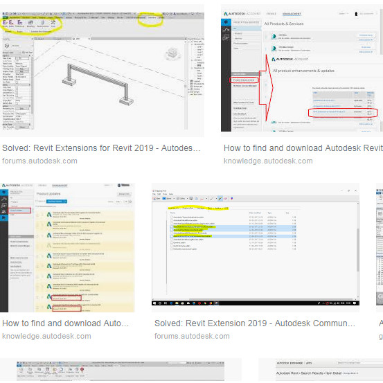 Revit Extensions For Autodesk Revit 2019