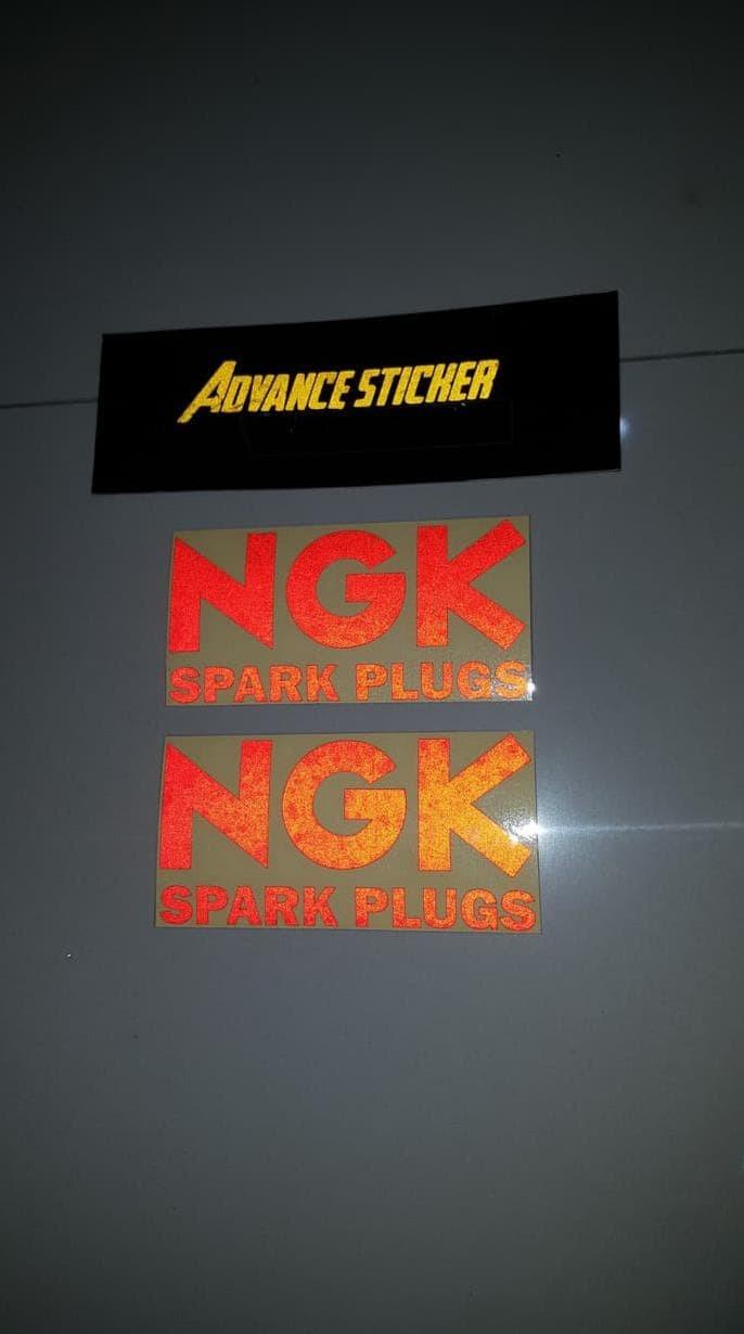 ANTI-SLIP MOUSE PAD. PAD NGK SPARK PLUGS  FABRIC MOUSE MAT