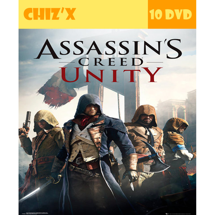 Jual Dvd Assassins Creed Unity Pc Unoriginal Kota Bandung Chiz