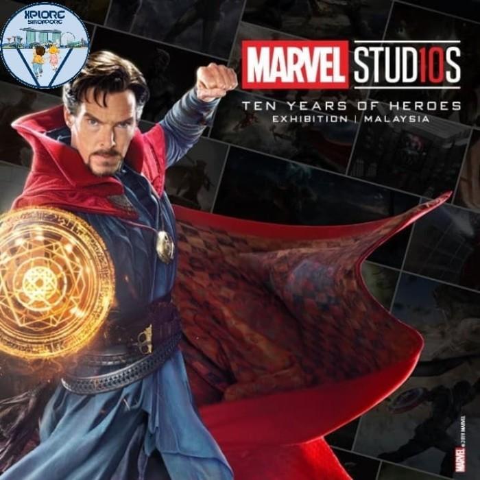 Jual Tiket Marvel Studio Malaysia Tiket Anak Dki Jakarta Xplore Singapore Tokopedia