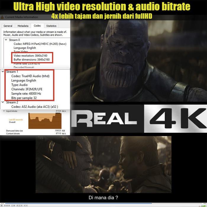 Jual Bluray Original 4K Ultra HD & FullHD Remux | 4TB Harddisk - Kota  Bandung - Micro Digital Store | Tokopedia