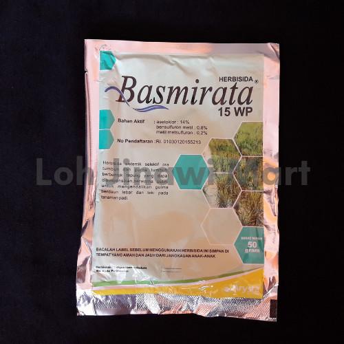 Foto Produk Herbisida Sistemik Selektif Khusus Tanaman Padi Basmirata 15 WP 50 g dari lohjinawi-mart